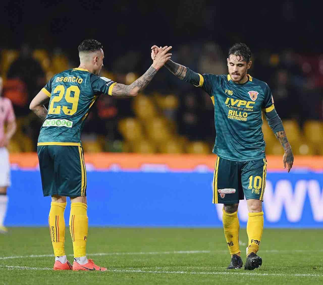 Calciomercato Salernitana Dany Mota Carvalho Litteri Asencio Serie B