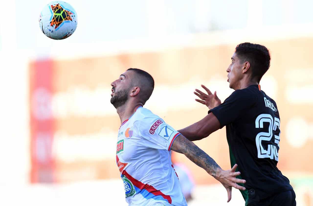 Calciomercato Livorno Dall'Oglio Catania visite Serie B