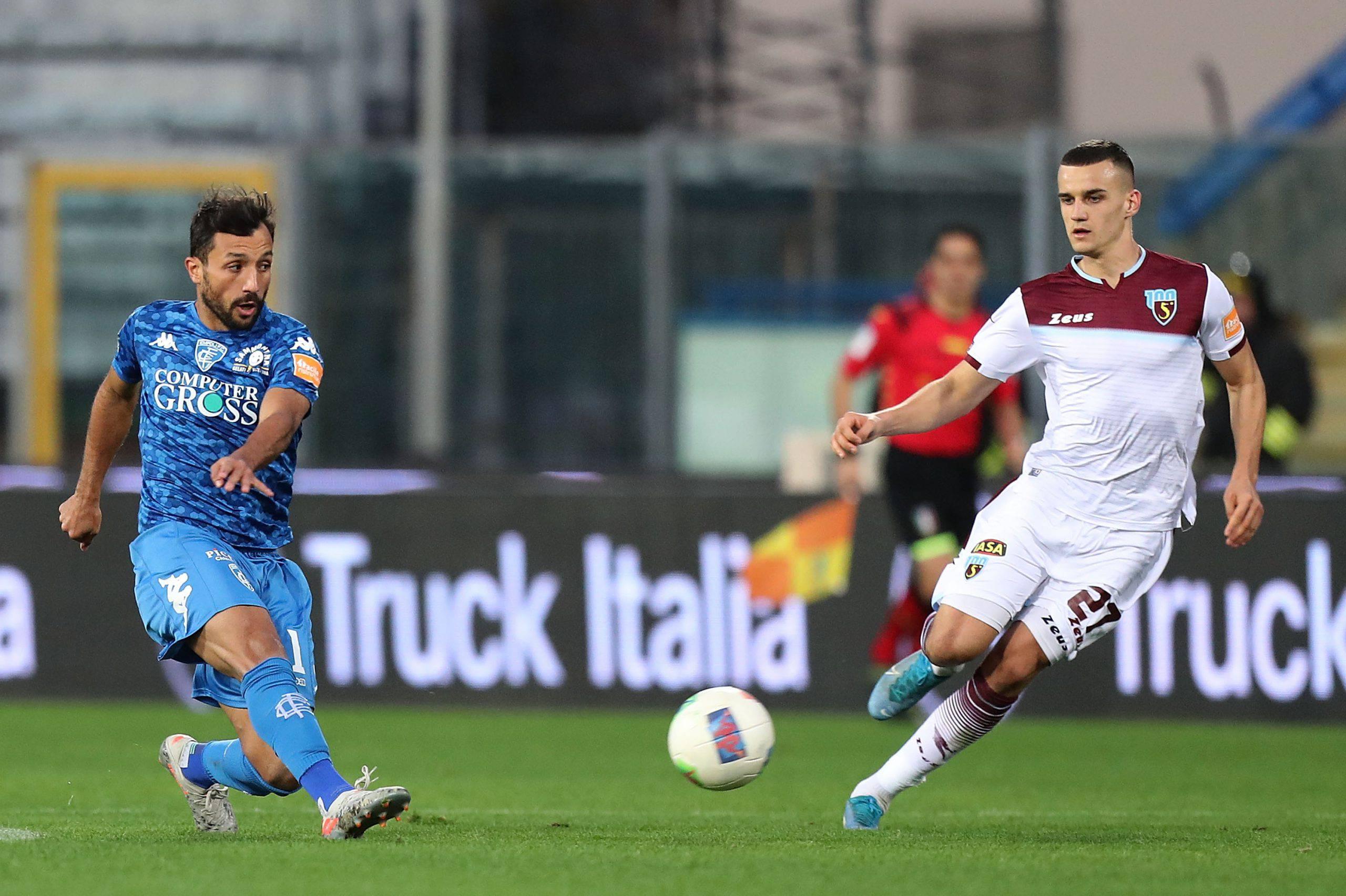 Calciomercato Empoli Laribi Bari ufficiale Verona Serie B