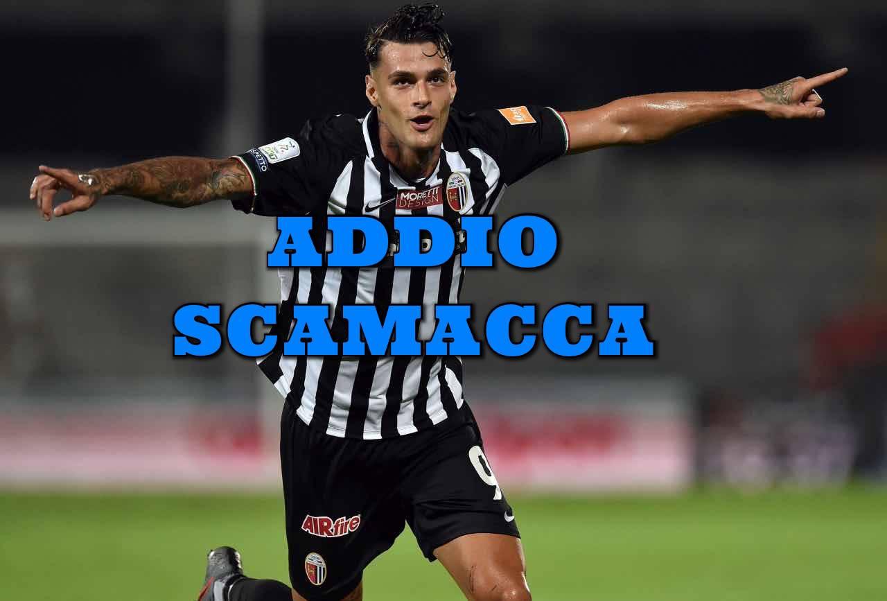 Calciomercato Ascoli Scamacca Benfica Sassuolo Serie B