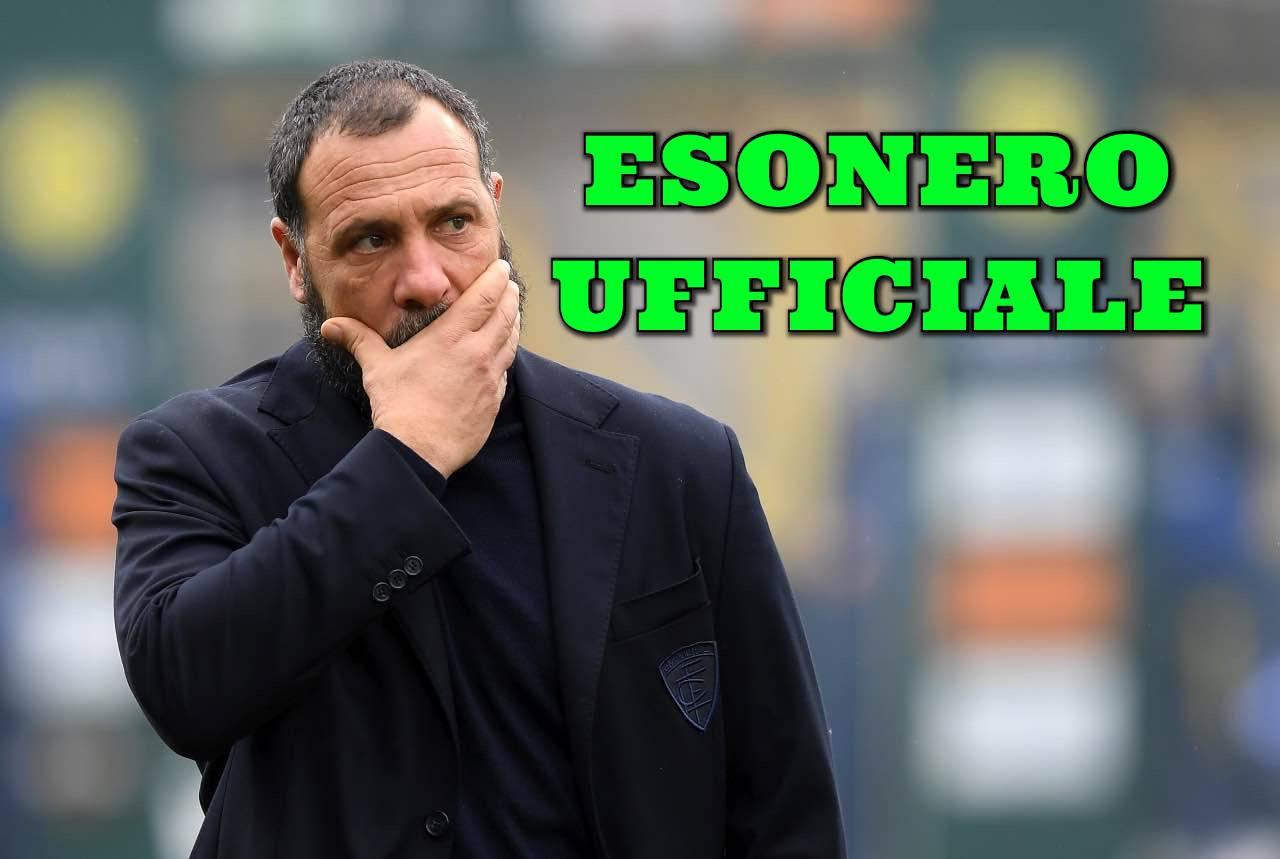 Calciomercato Empoli esonero Muzzi ufficiale Marino