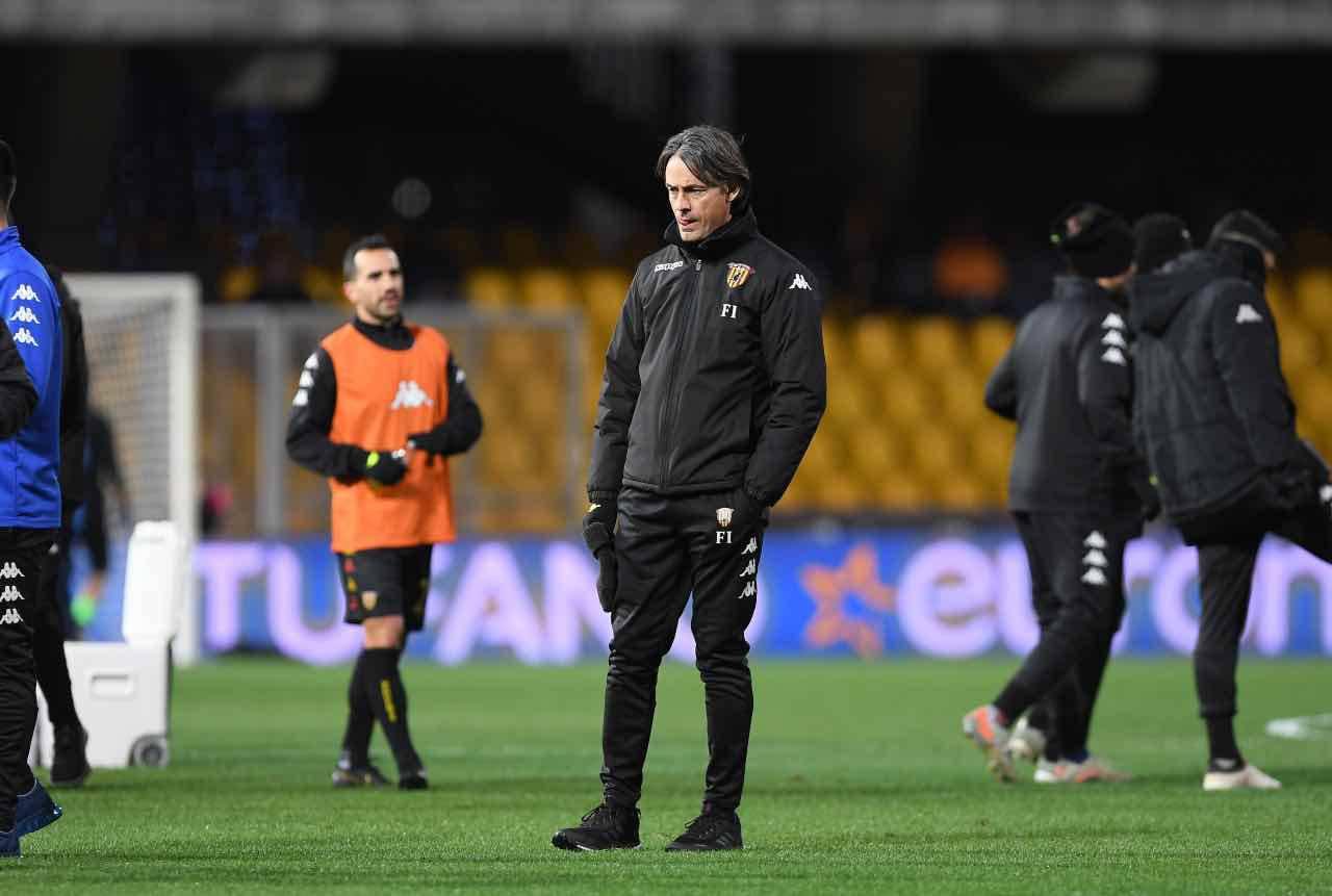 Benevento Inzaghi Totti Viola Serie B