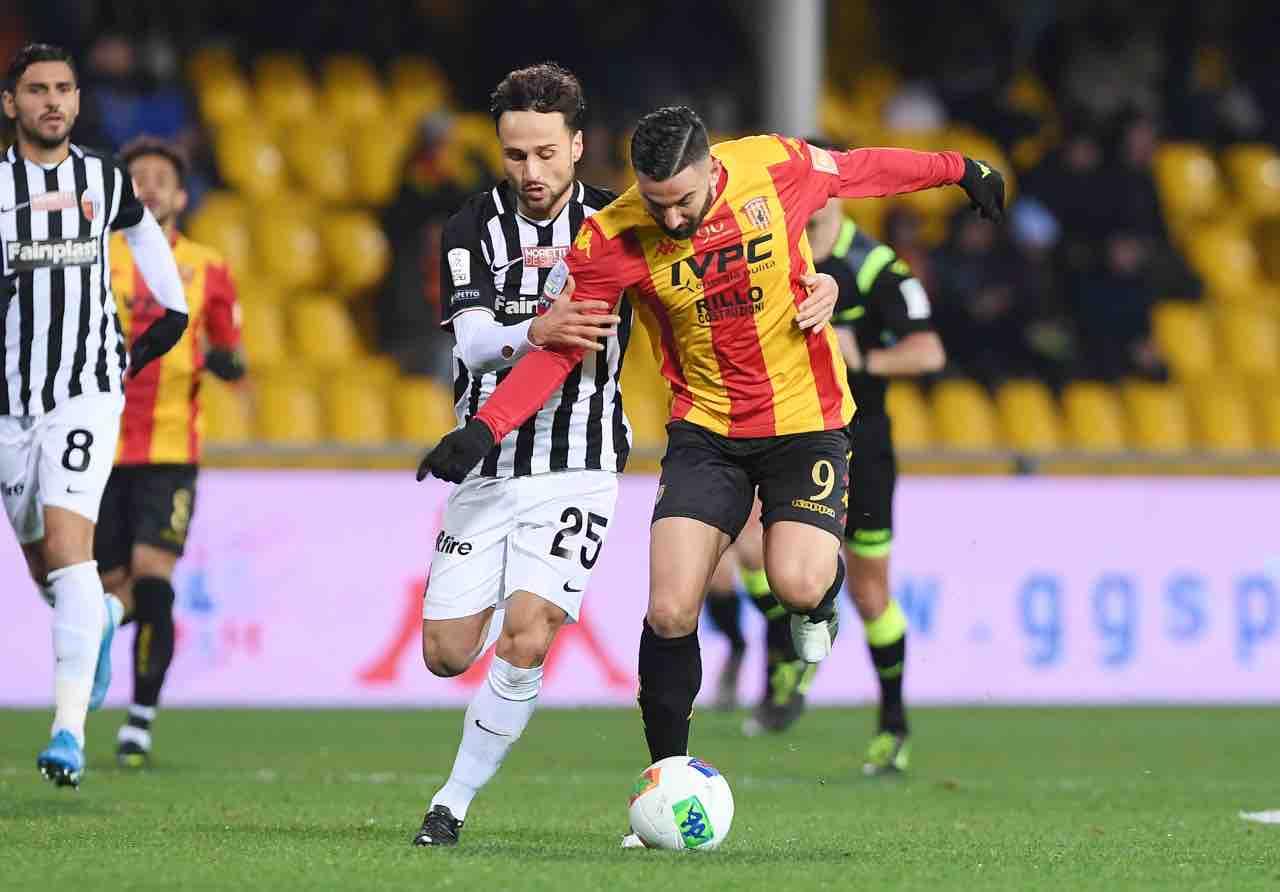 Calciomercato Frosinone Coda Benevento Serie B