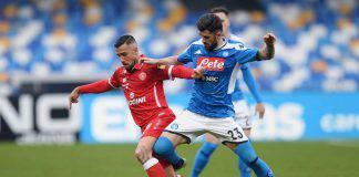Coppa Italia Napoli-Perugia tabellino