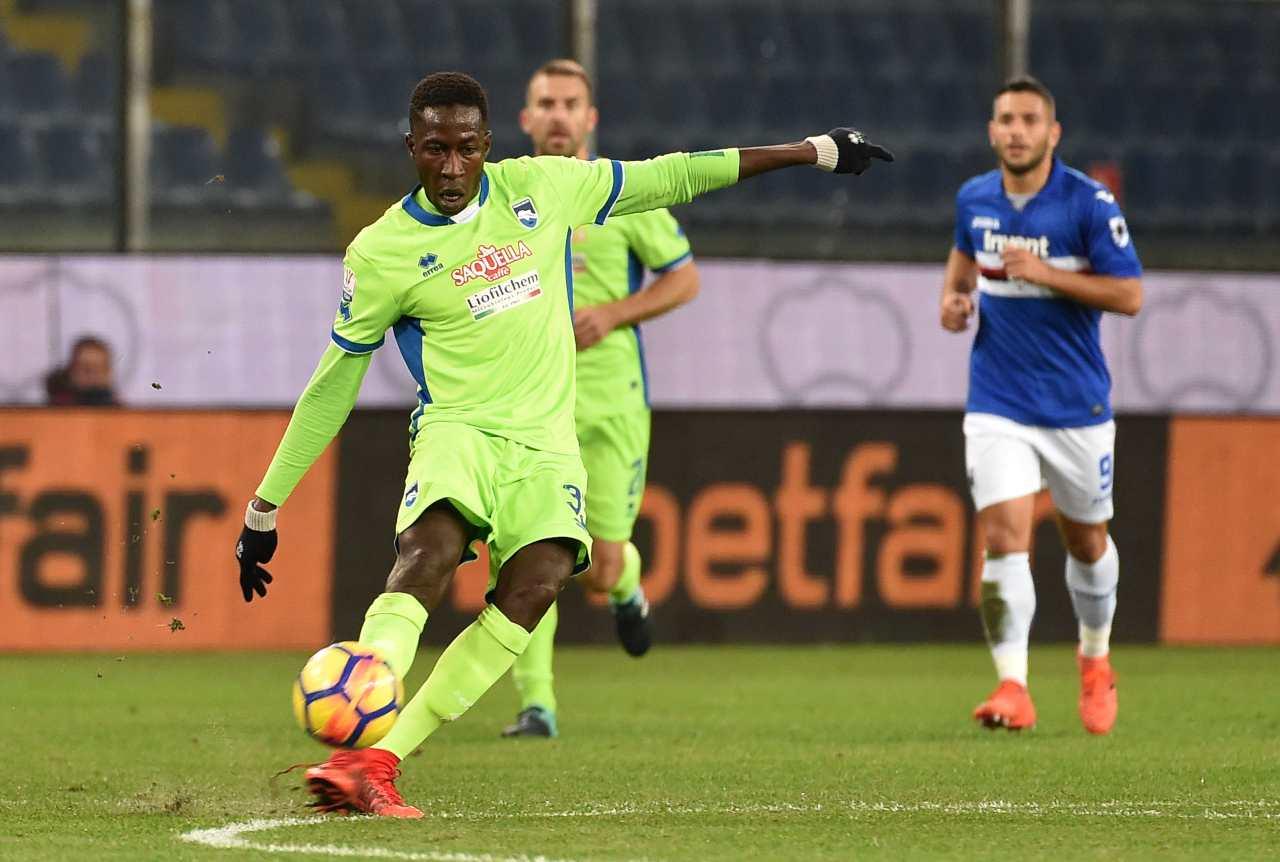 Calciomercato Udinese, Coulibaly verso il Trapani: lascia l'Entella