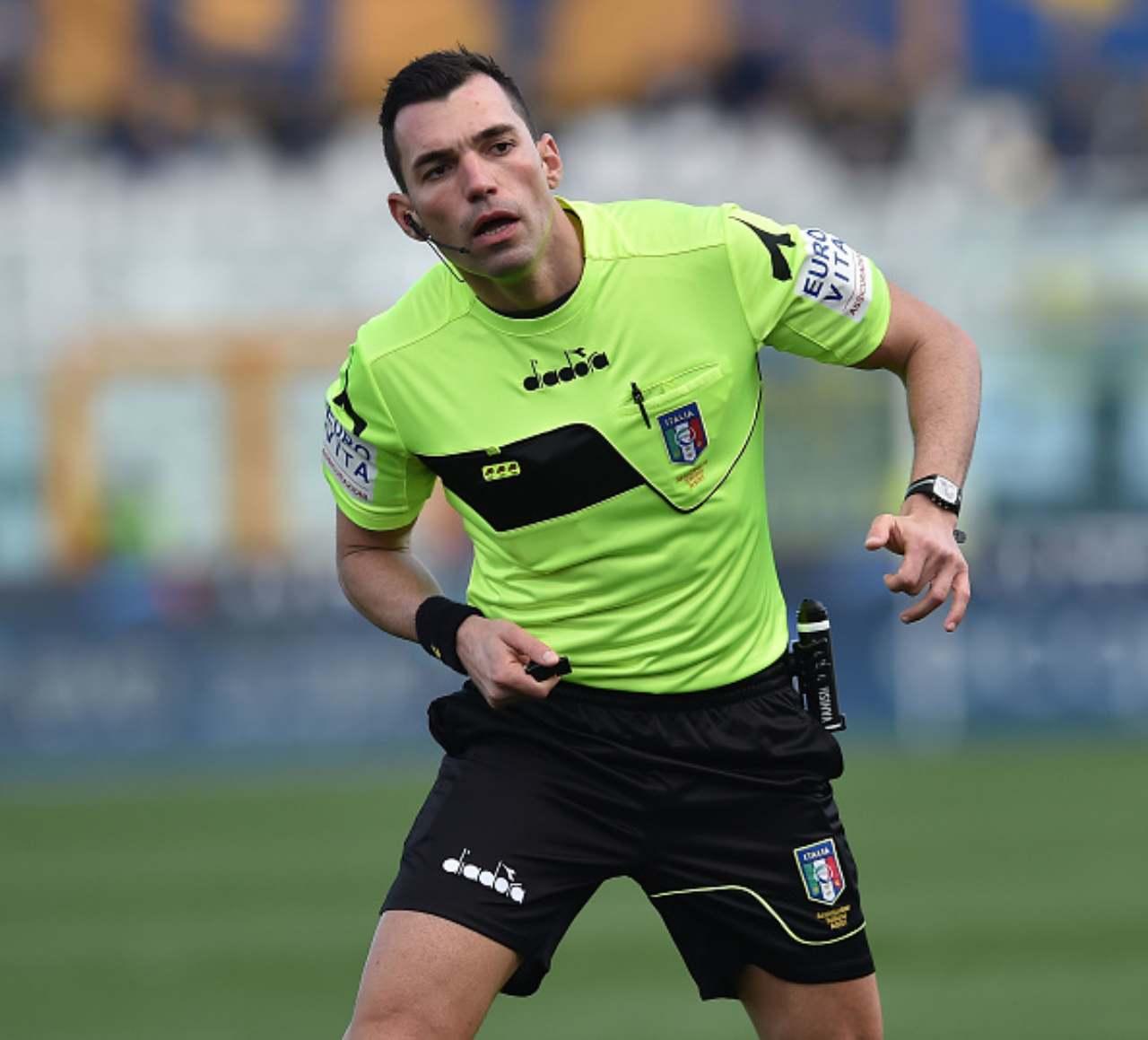 Serie B arbitri ventiduesima giornata Illuzzi