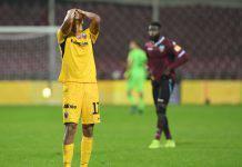 Trapani-Ascoli, Da Cruz litiga con i tifosi dopo l'espulsione