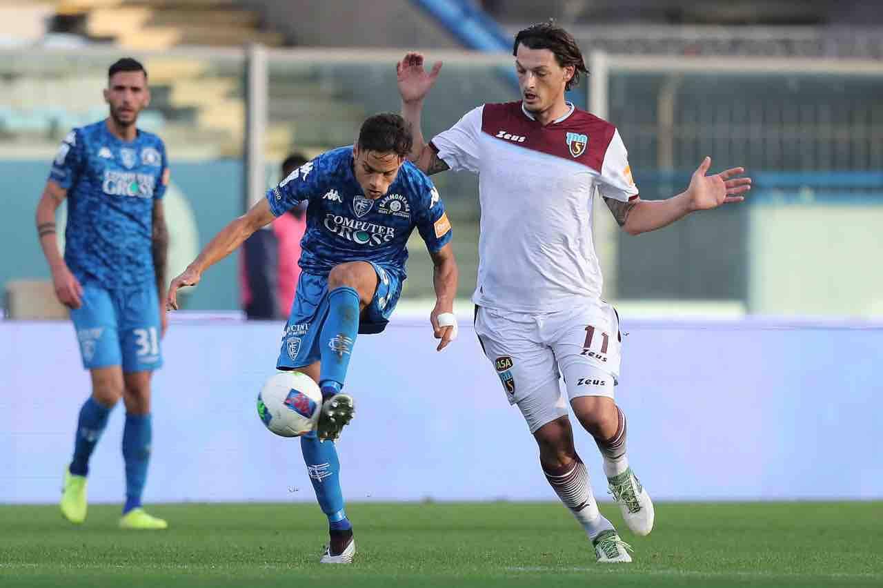Salernitana Djuric Serie A Serie B