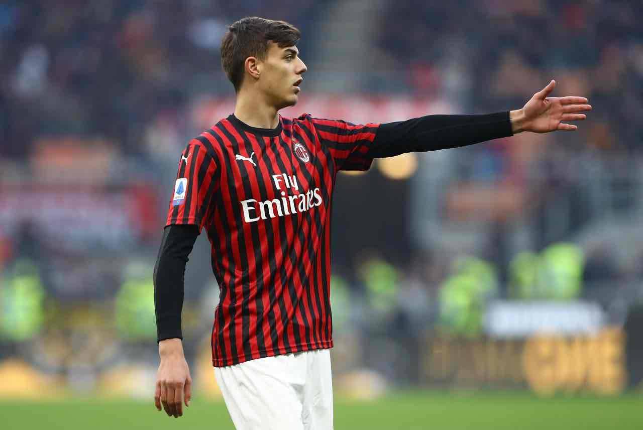 Milan Daniel Maldini esordio Verona Serie A