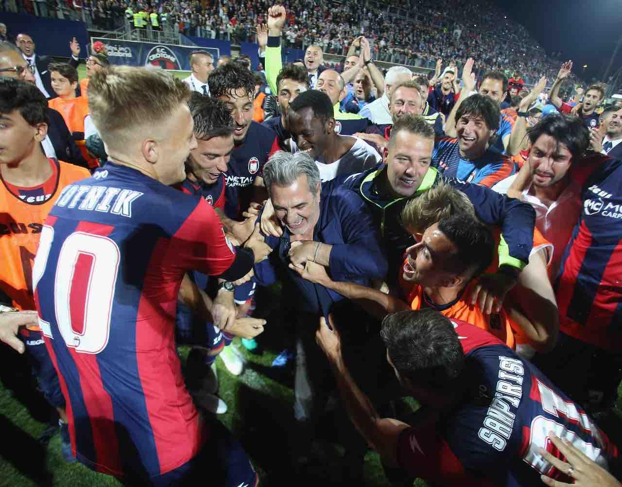 Juve Stabia Crotone Vrenna presidente Var Serie B