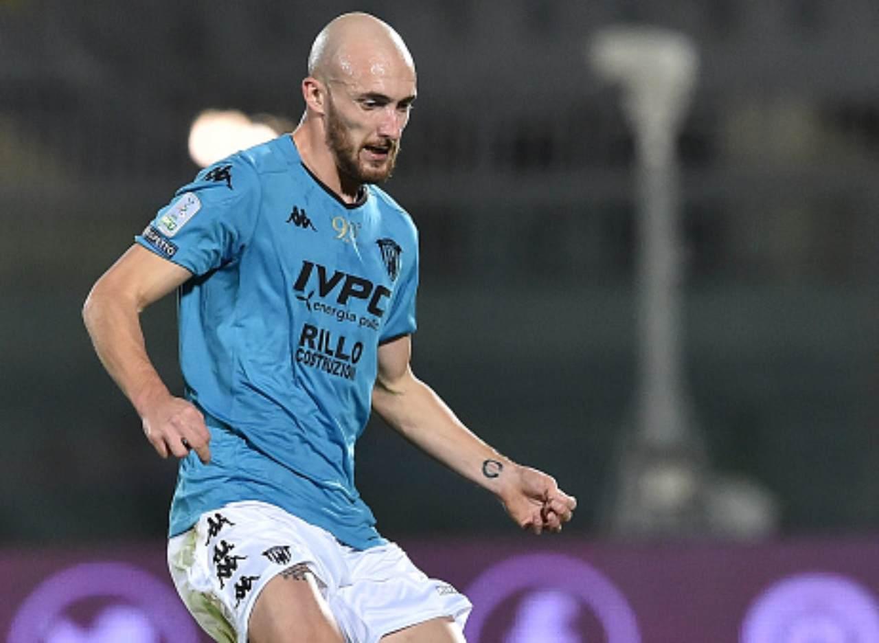 Benevento infortunio Caldirola