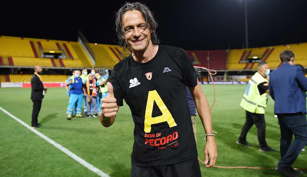 Benevento Inzaghi Glik Ionita