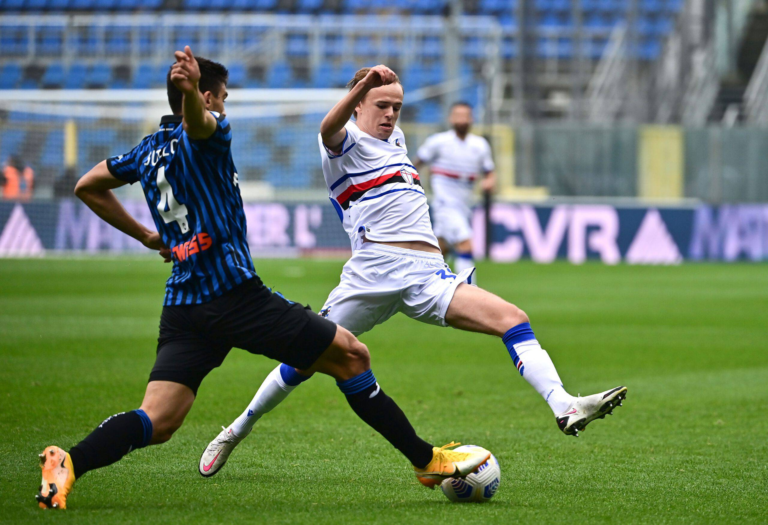 Damsgaard calciomercato Sampdoria