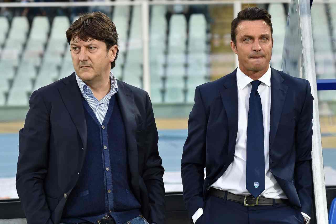Daniele Sebastiani e Massimo Oddo