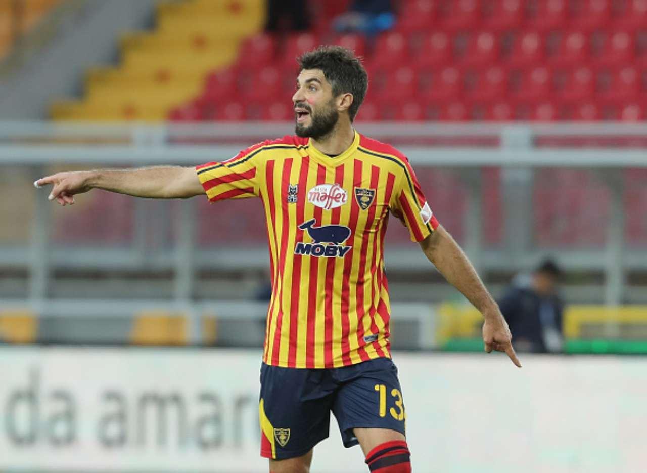 Calciomercato Lecce, occhi su Rossettini: ritorno di fiamma del Padova