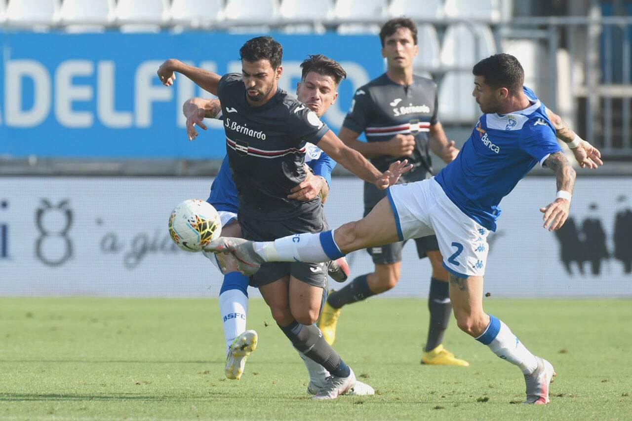 Calciomercato Brescia Sabelli Sampdoria