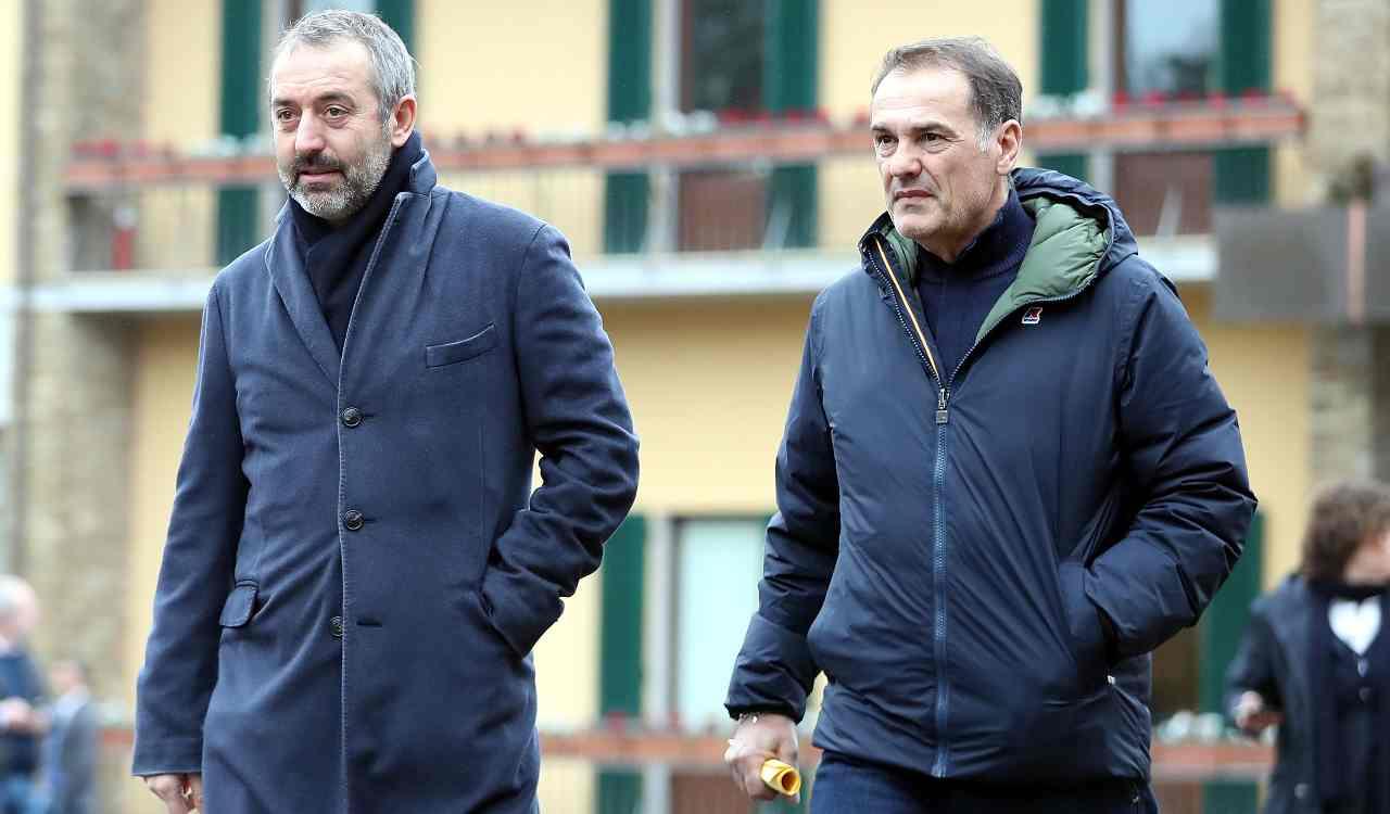 Vincenzo Vivarini e Marco Giampaolo (Getty Images)