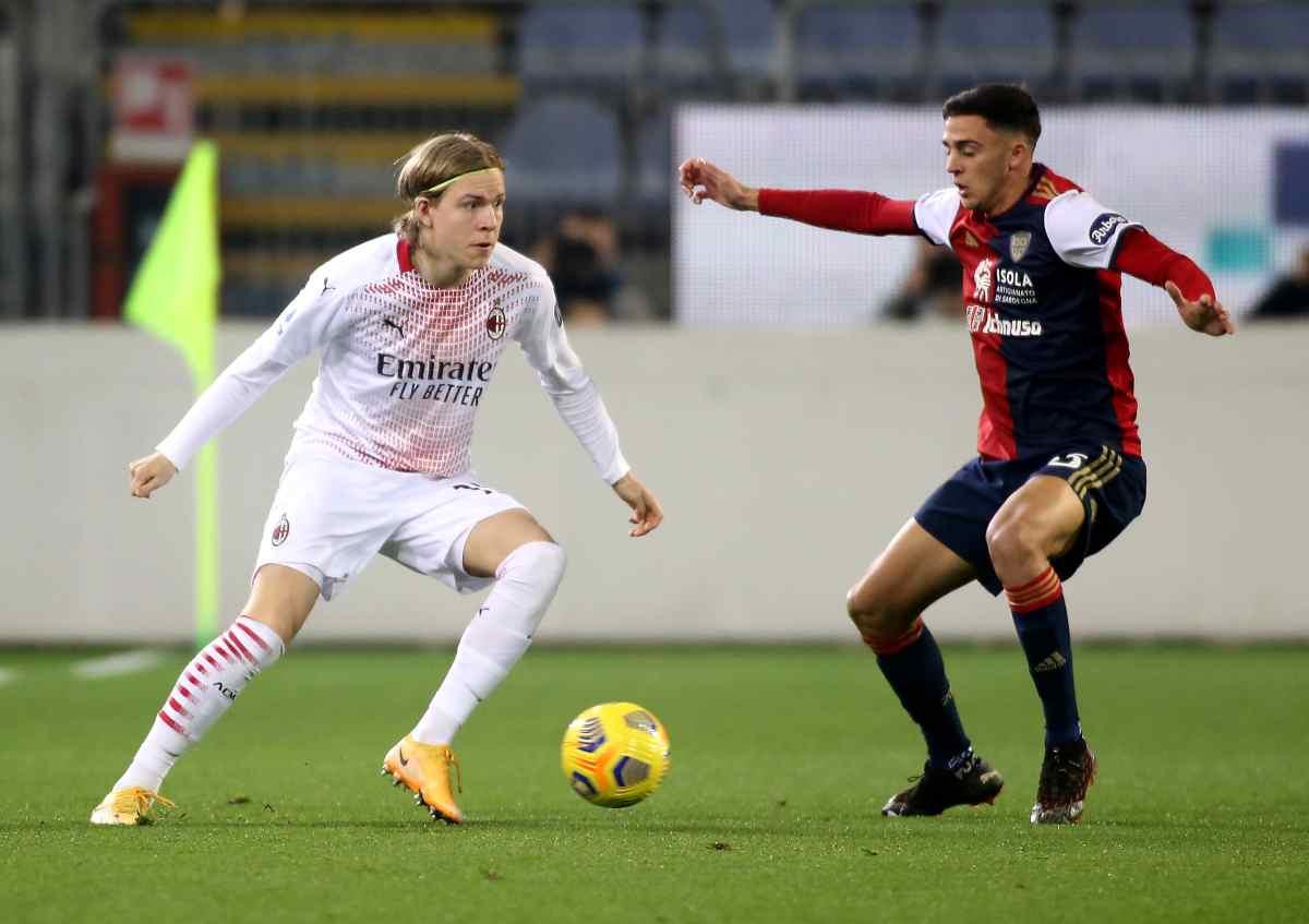 Hauge Milan addio
