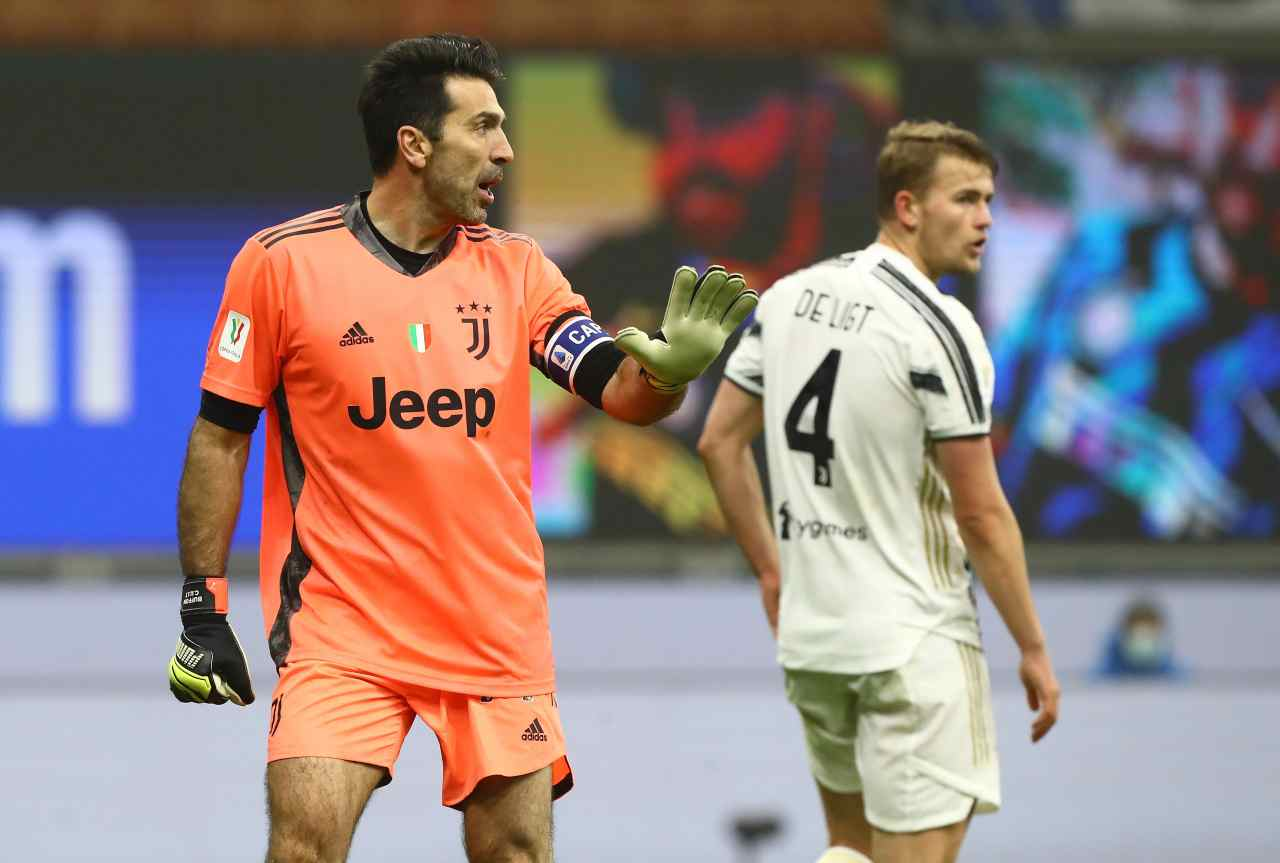 Buffon Serie B Juventus Parma