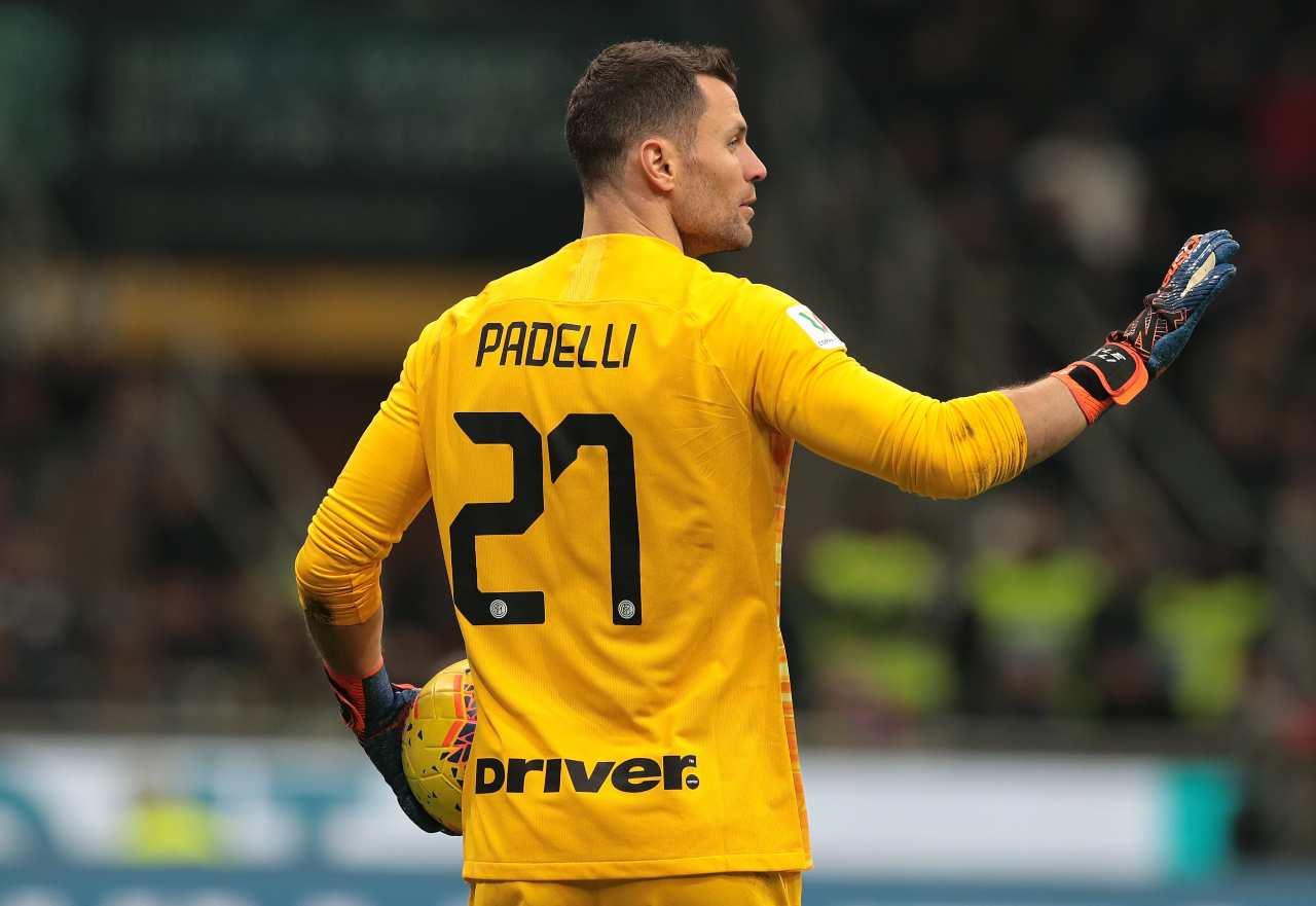 Calciomercato Inter, niente Serie B per Padelli | La decisione per il futuro