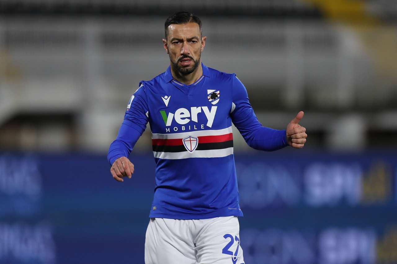 Serie B Quagliarella rinnovo Sampdoria