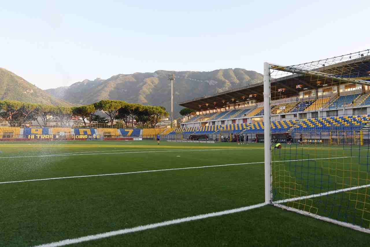 Focolaio Covid. rinviata la partita tra Juve Stabia e Catanzaro