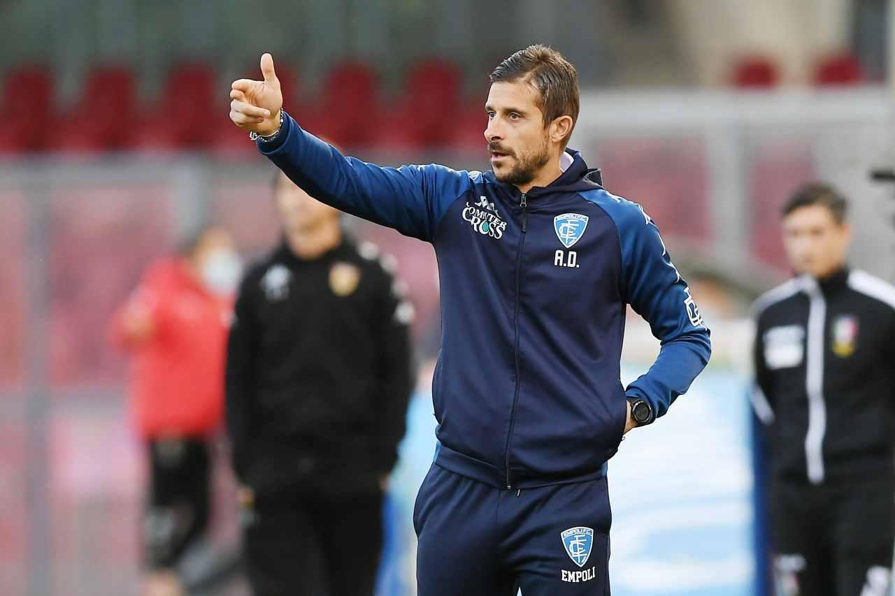 Calciomercato, niente Napoli per Dionisi: resta all'Empoli