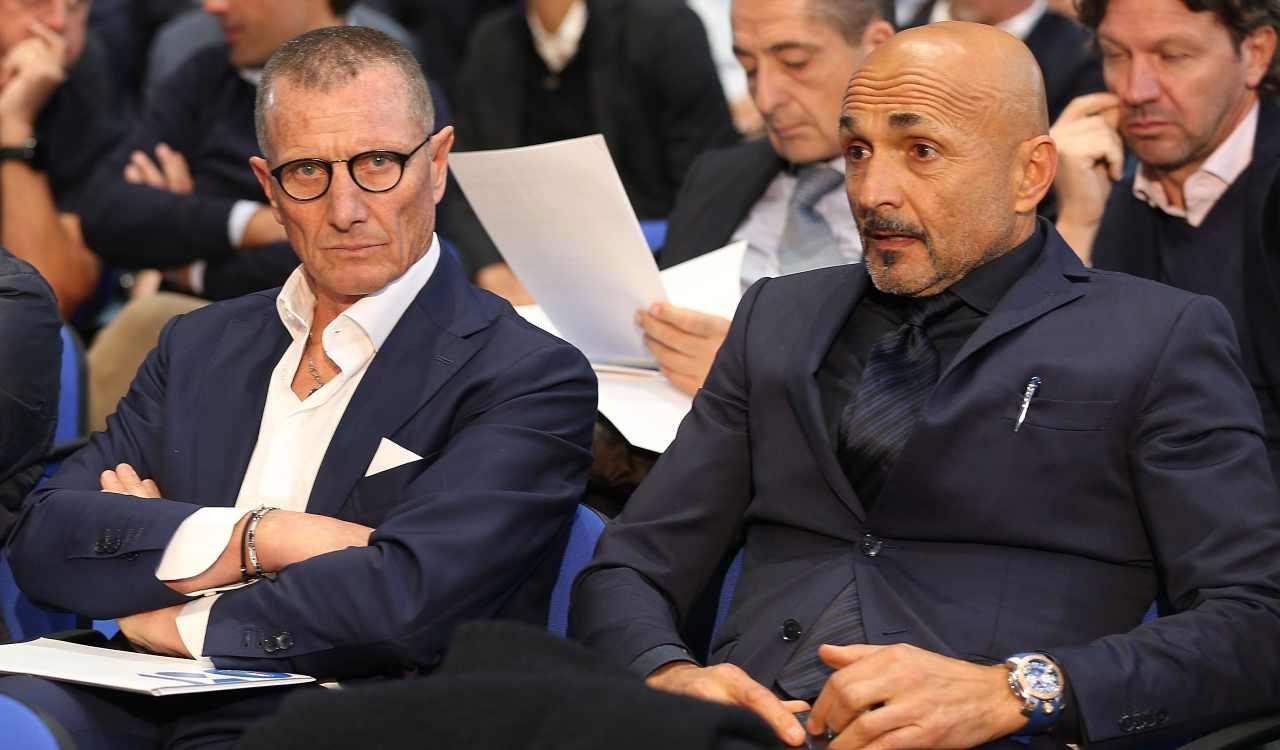Aurelio Andreazzoli e Luciano Spalletti ©Getty Images