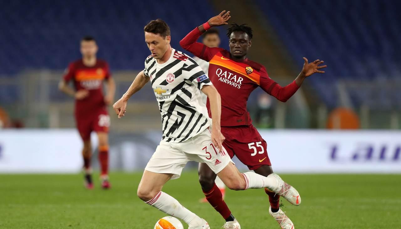 Darboe duello Roma Manchester United con Matic