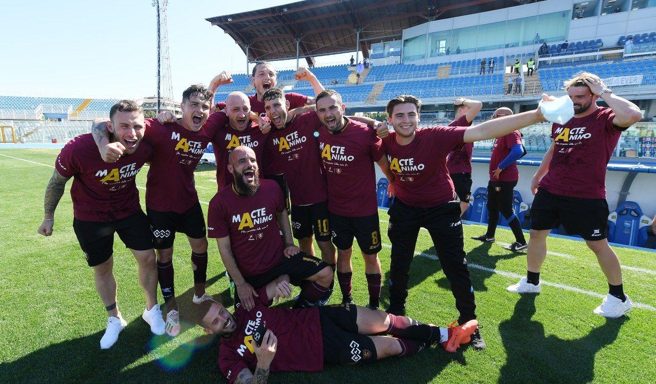 Salernitana Serie A promozione