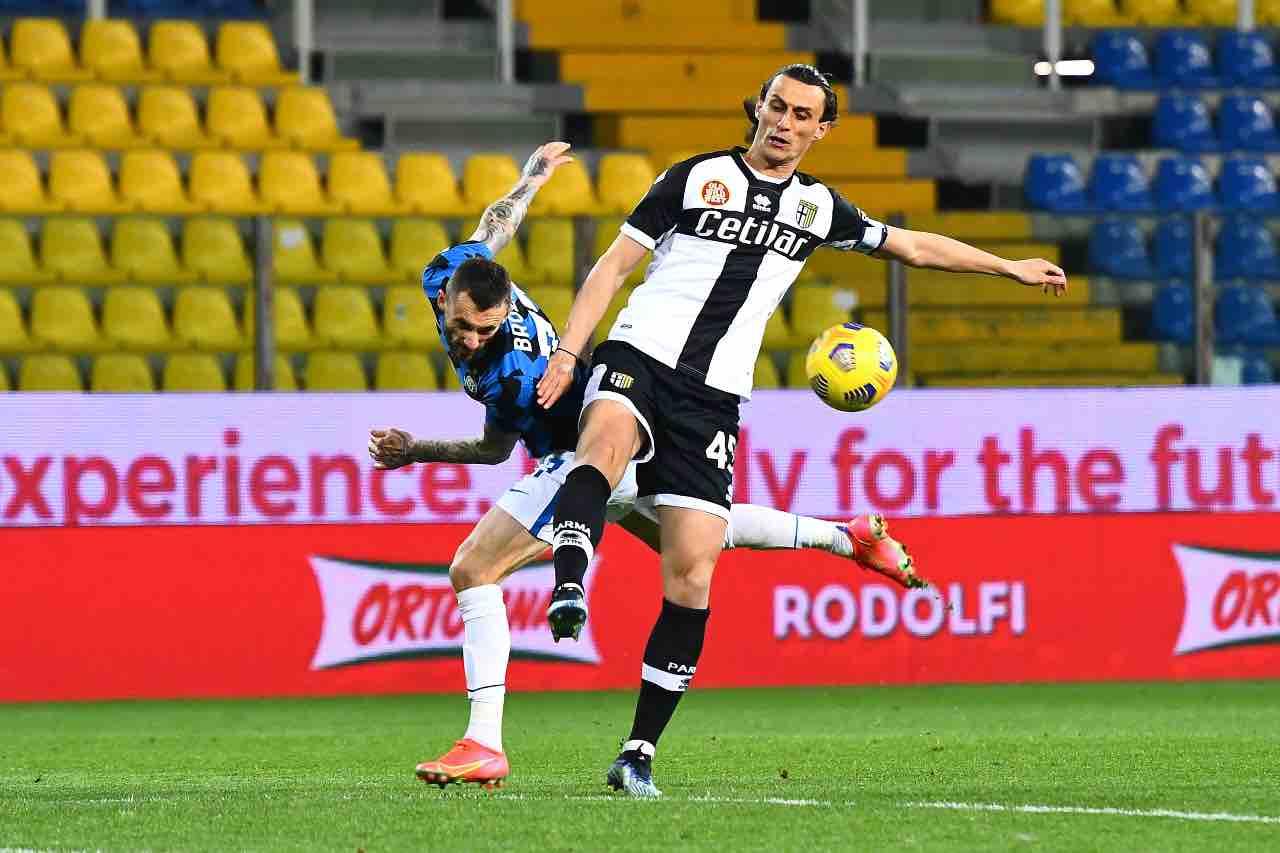 Inglese calciomercato Inter Parma
