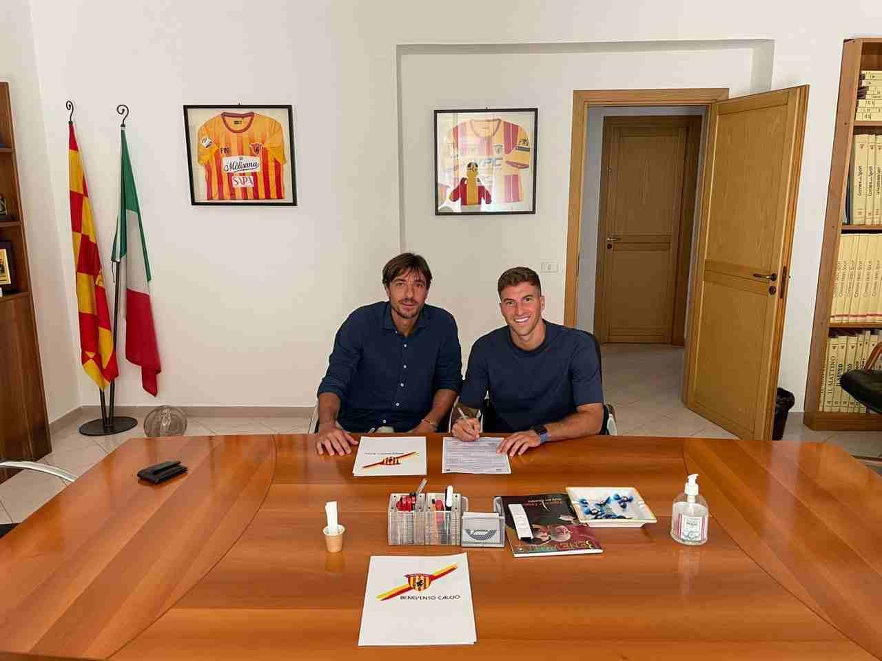 Benevento Masciangelo ufficiale Pescara