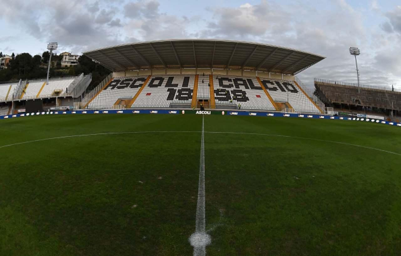 Ascoli Serie B Covid-19 ufficiale