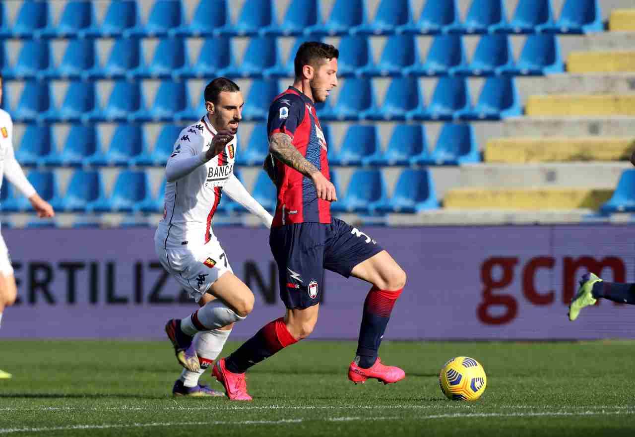 Monza Juventus Crotone Gytkjaer Marrone Maric