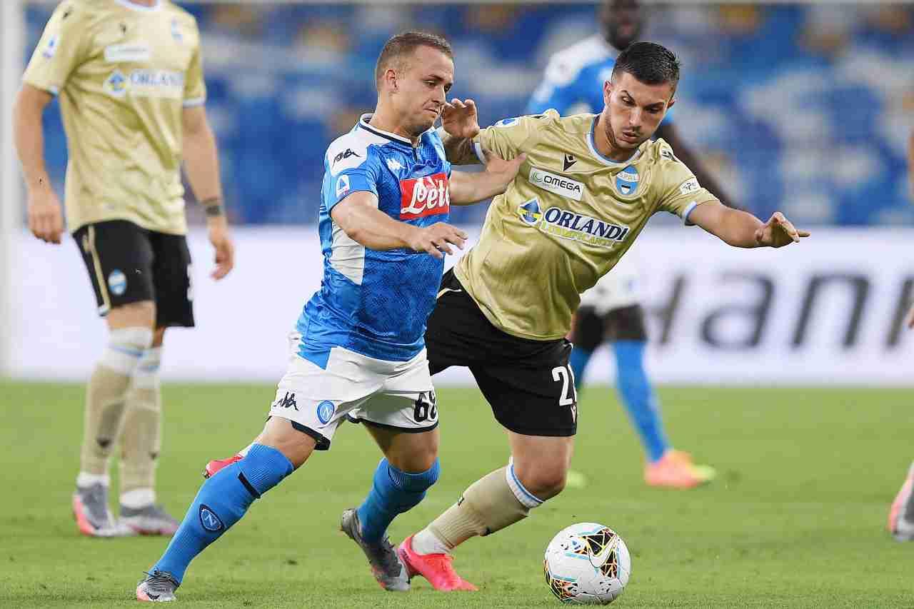 Lecce Serie B Strefezza Spal ufficiale
