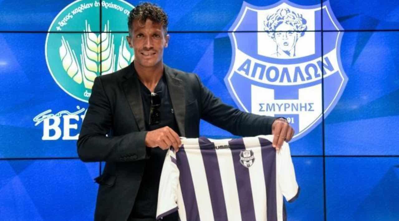Bruno Alves ufficiale Apollon Smyrnis