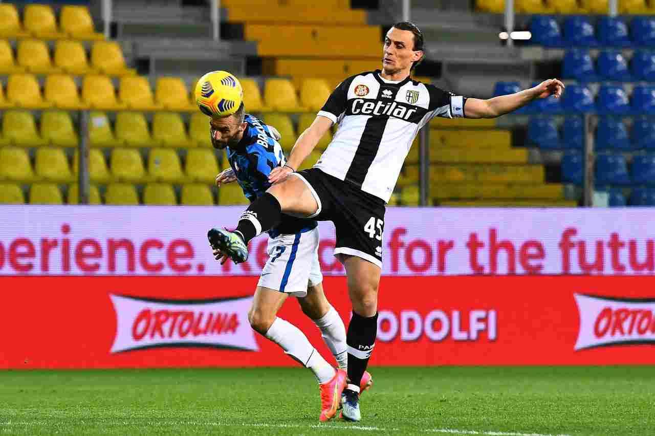 Parma Inglese Okaka Udinese