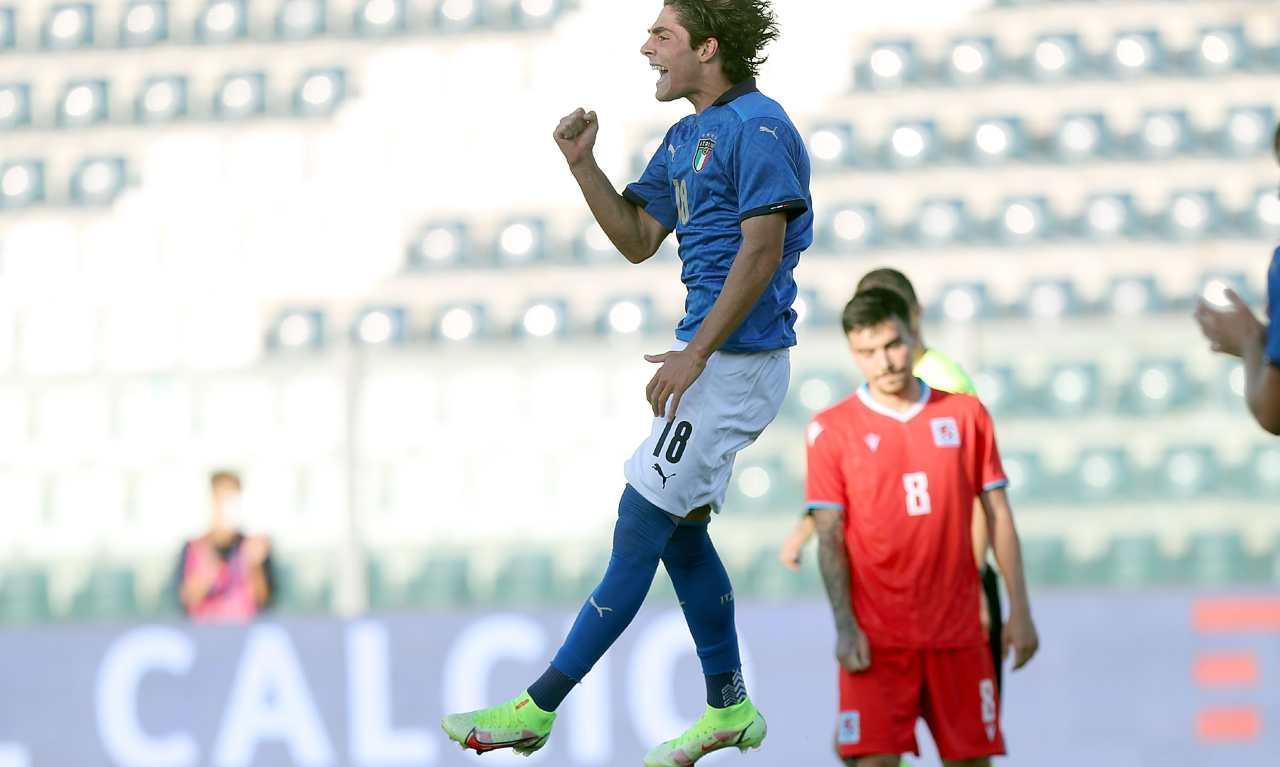 Under 21, Italia- Lussemburgo 3-0