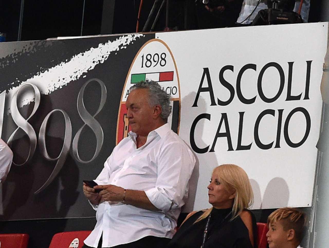 Massimo Pulcinelli, presidente Ascoli