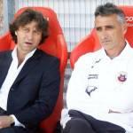 Il dg Stefano Marchetti insieme al tecnico Foscarini