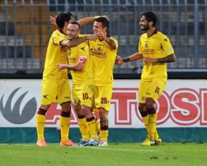 livorno89 300x241 Play off Livorno Empoli 1 0, le voci dei protagonisti amaranto nel nome di Piermario Morosini!